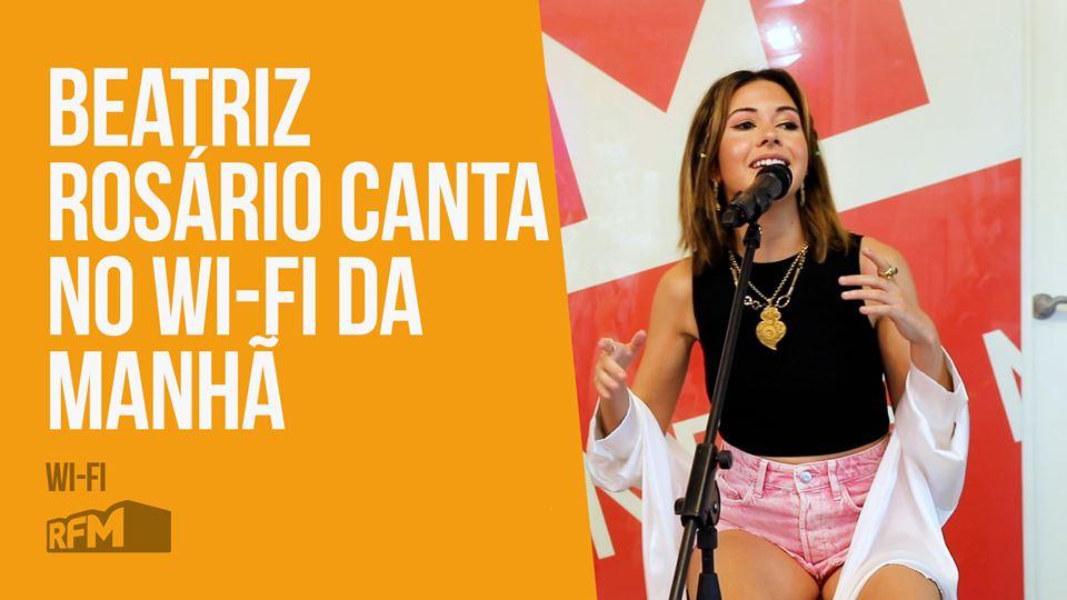"""Beatriz Rosário canta """"Ficamos..."""