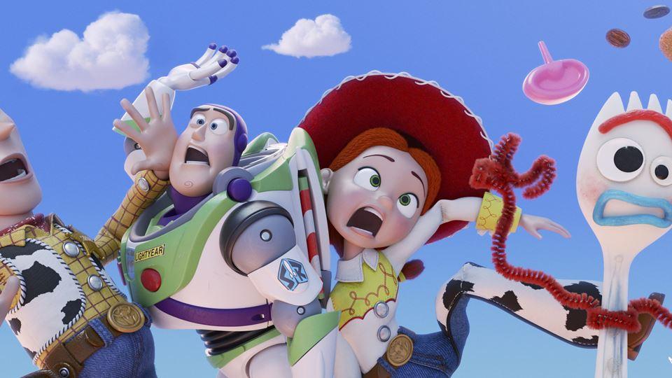 Toy Story 4 - estreia com a RFM