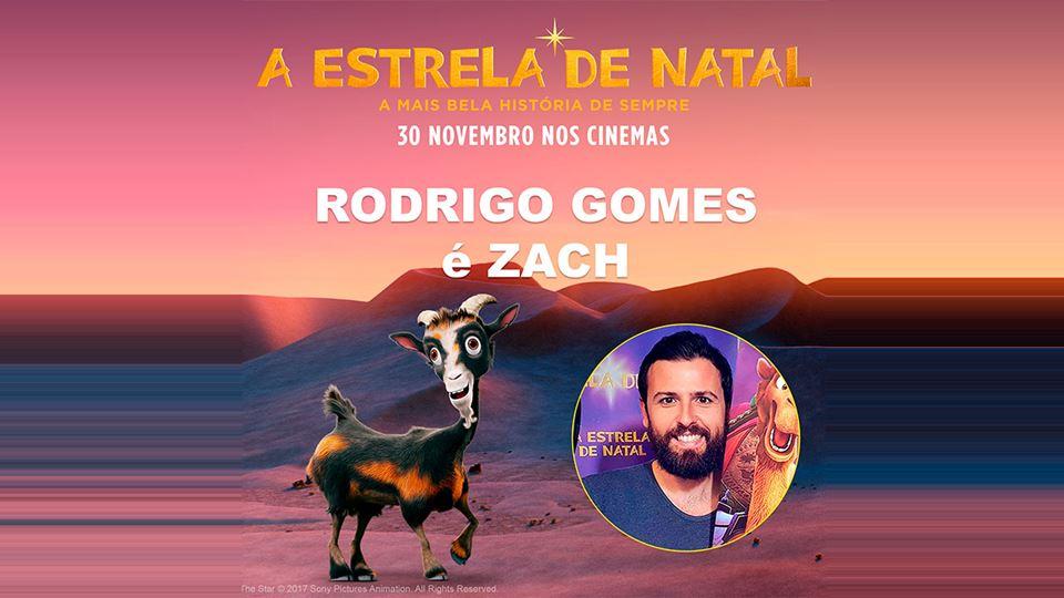 Rodrigo Gomes em A Estrela de Natal