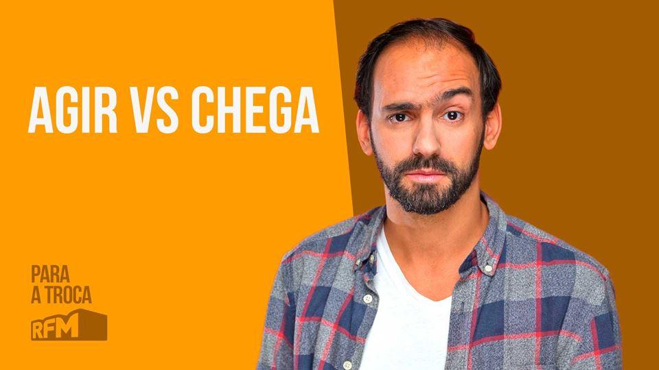 Duarte Pita Negrão: Agir vs Chega