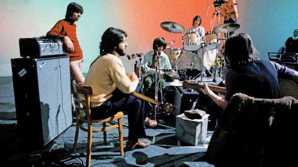 Beatles Let it Be sessions