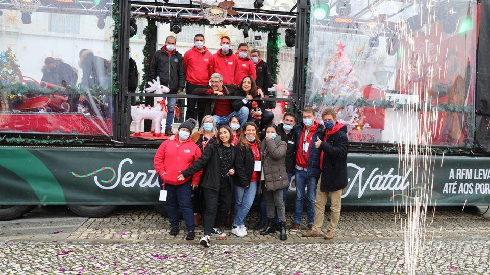 A equipa RFM sente Portugal no Natal com o Minipreço