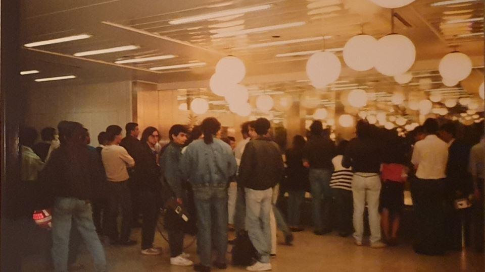 Aeroporto Lisboa madrugada 7 Junho 1990