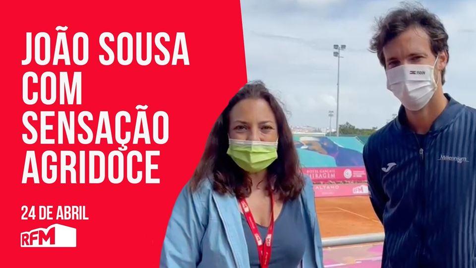 João Sousa com sensação agrido...