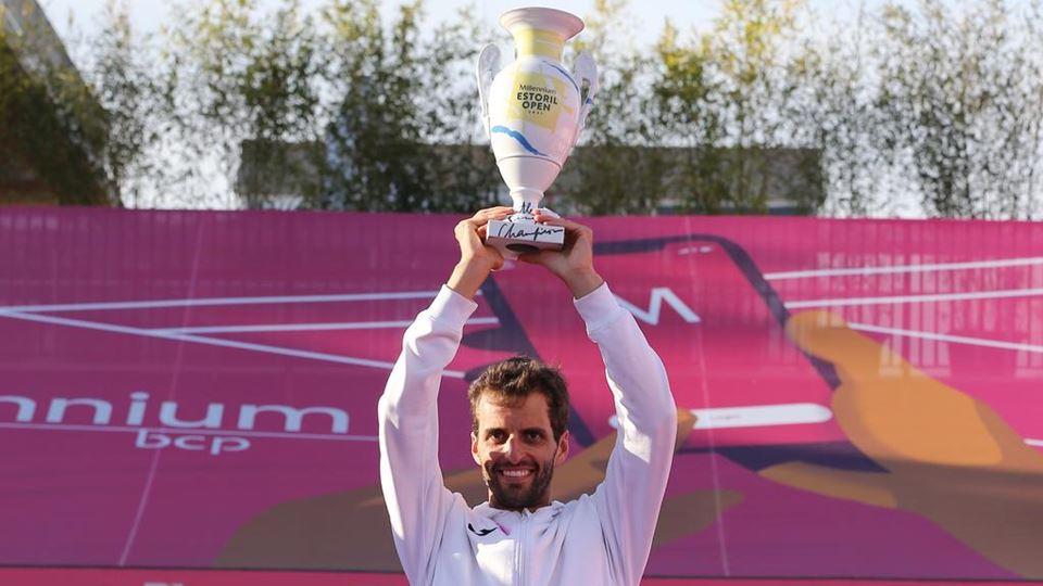 Alber Ramos-Vinolas, vencedor do Millennium Estoril Open 2021