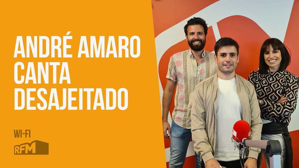 """André Amaro canta """"Desajeitado..."""