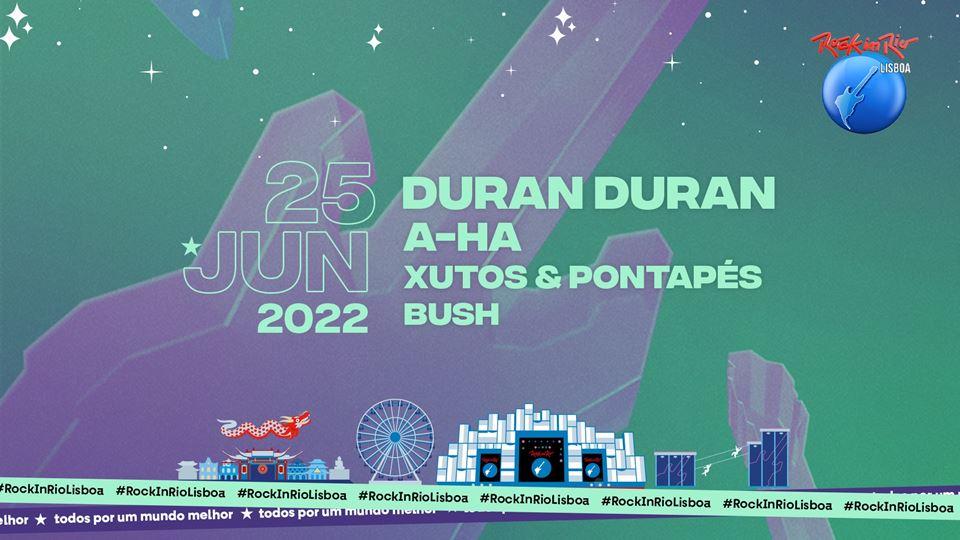 Palco Mundo Rock in Rio Lisboa 25 Junho 2022