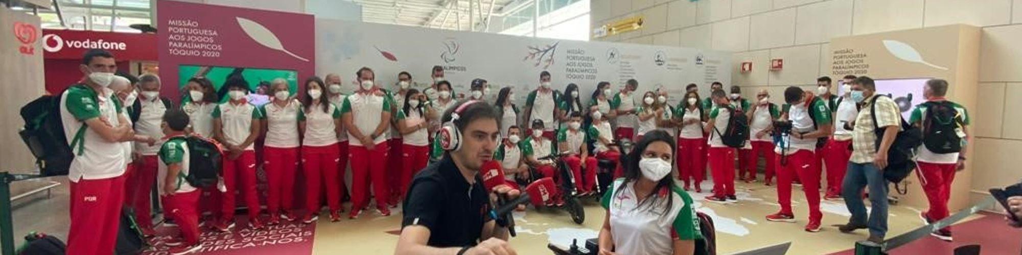 """RFM distinguida com prémio """"Inclusão pelo Desporto"""" pelo Comité Paralímpico de Portugal"""