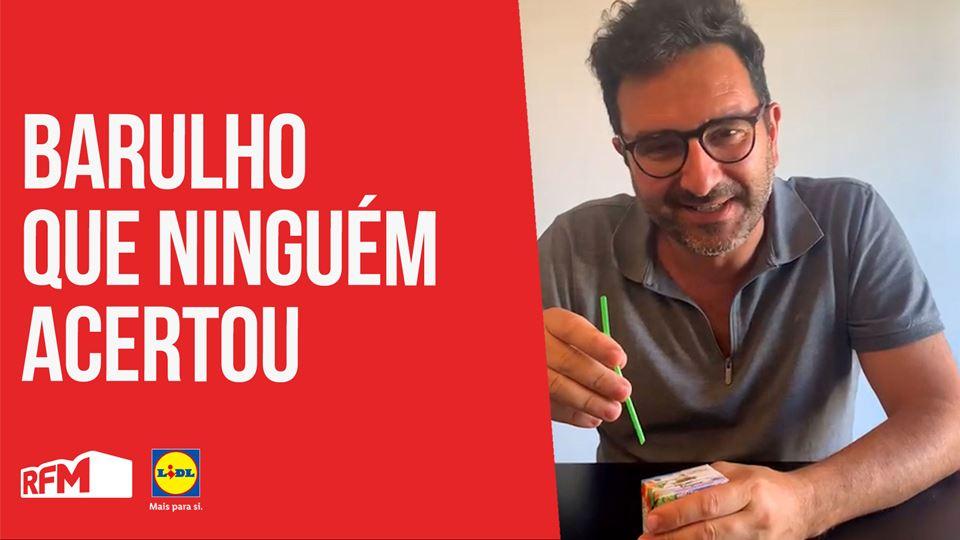 José Coimbra com o barulho que...