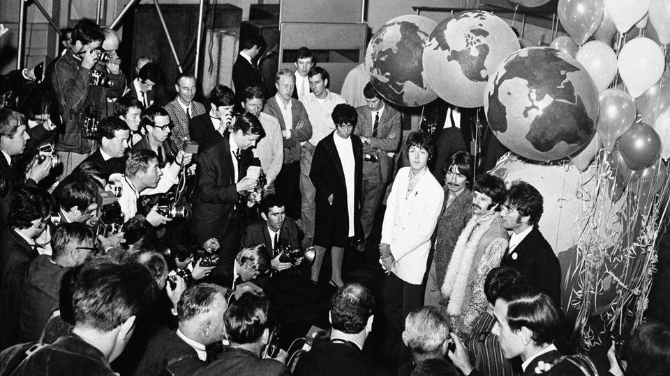 Beatles Tranmissão Our World 25 Junho 1967