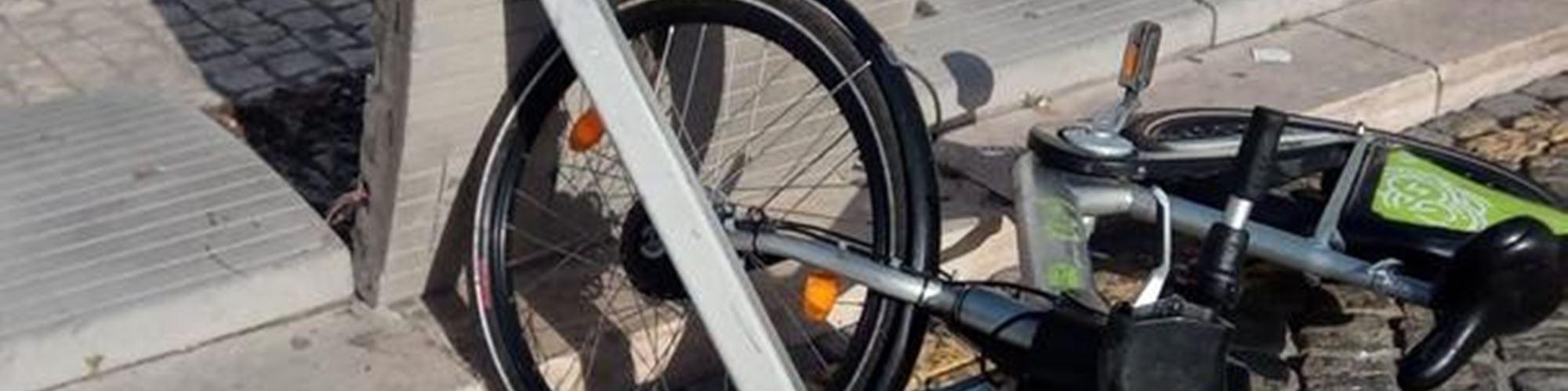 Centenas de bicicletas vandalizadas em Lisboa em apenas 15 dias