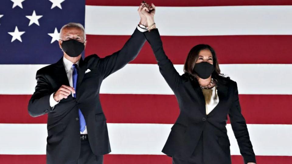 Joe Biden e Kamala Harris toma...