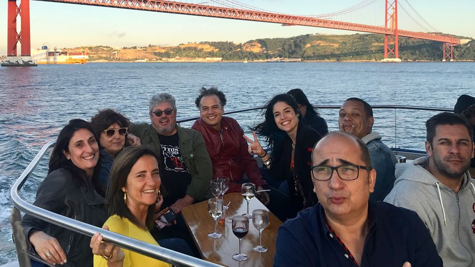 Boat in Rio RFM com Tim, Carlão, Zé Ricardo e Roberta Medina