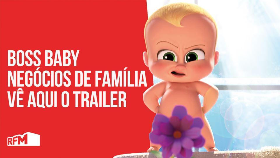 Trailer do filme Boss Baby - N...
