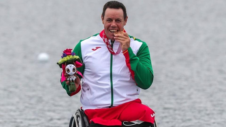 Jogos Paralímpicos: canoísta p...
