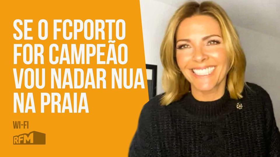 Sónia Araújo no Wi-Fi da RFM