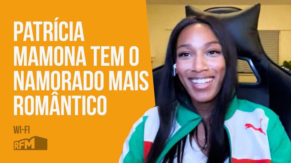 Patrícia Mamona live no Wi-Fi ...