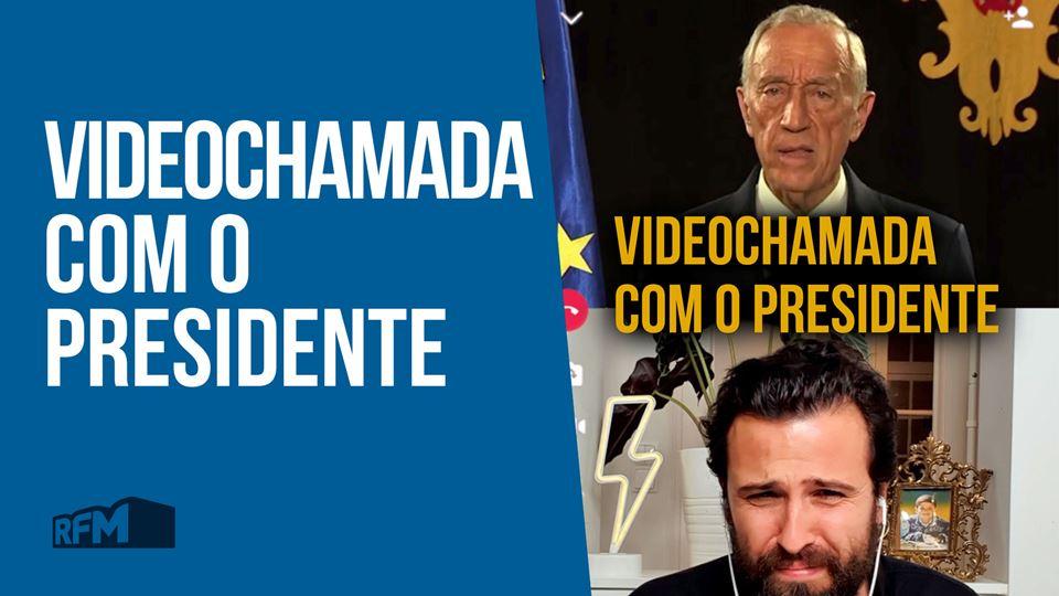 Videochamada do Rodrigo Gomes ...