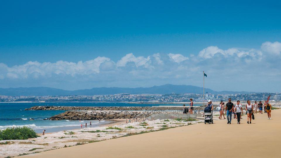 Os acessos às praias da Capari...