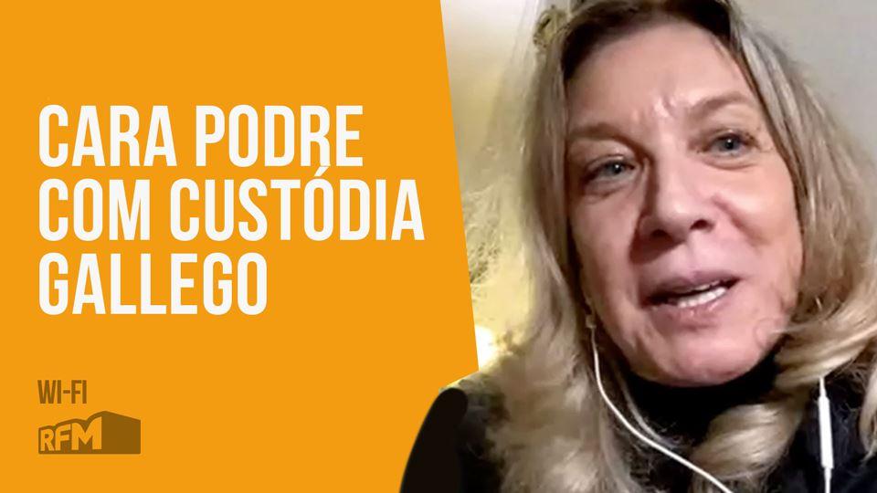 Cara Podre com Custódia Gallego