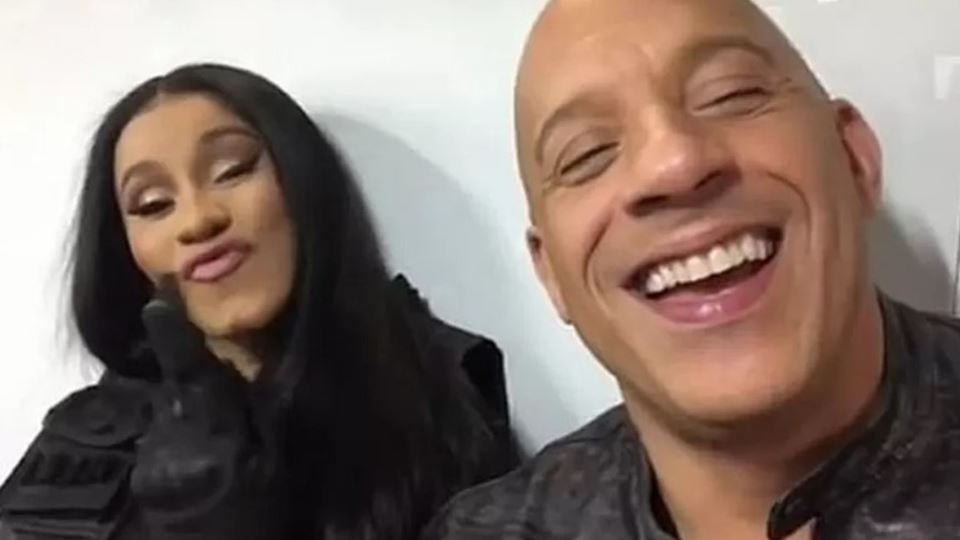 Cardi B com Vin Diesel