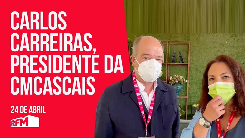 Carlos Carreiras festeja o reg...