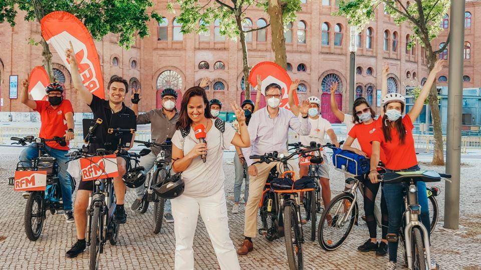 Carolina Camargo Daniel Fontoura António Mendes na RFM Bike Tor