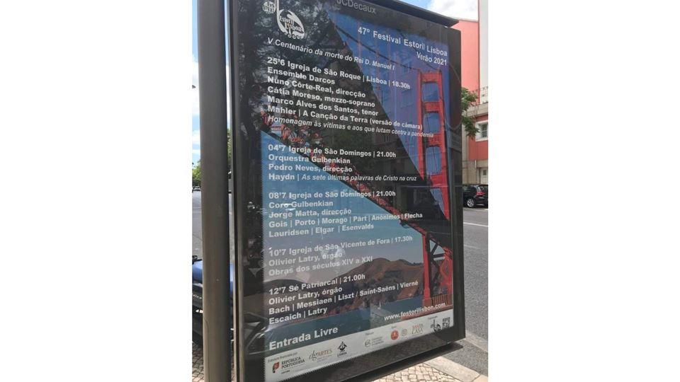 Cartaz de festival de Lisboa