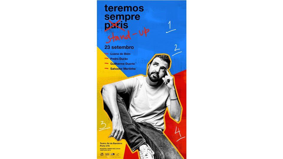 Cartaz de Salvador Martinha no Porto