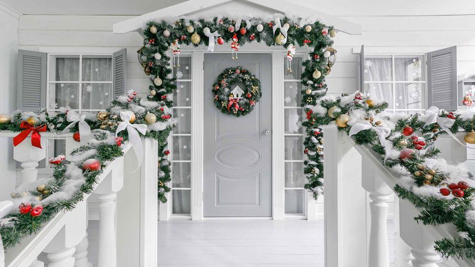 Casa decorada de Natal