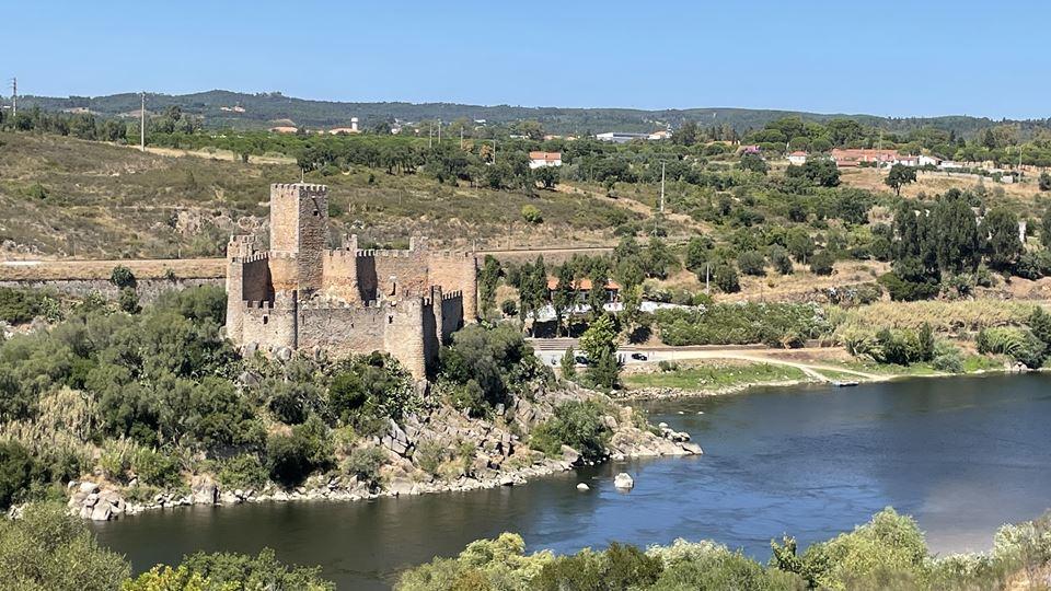 Castelo de Almourol por onde passamos