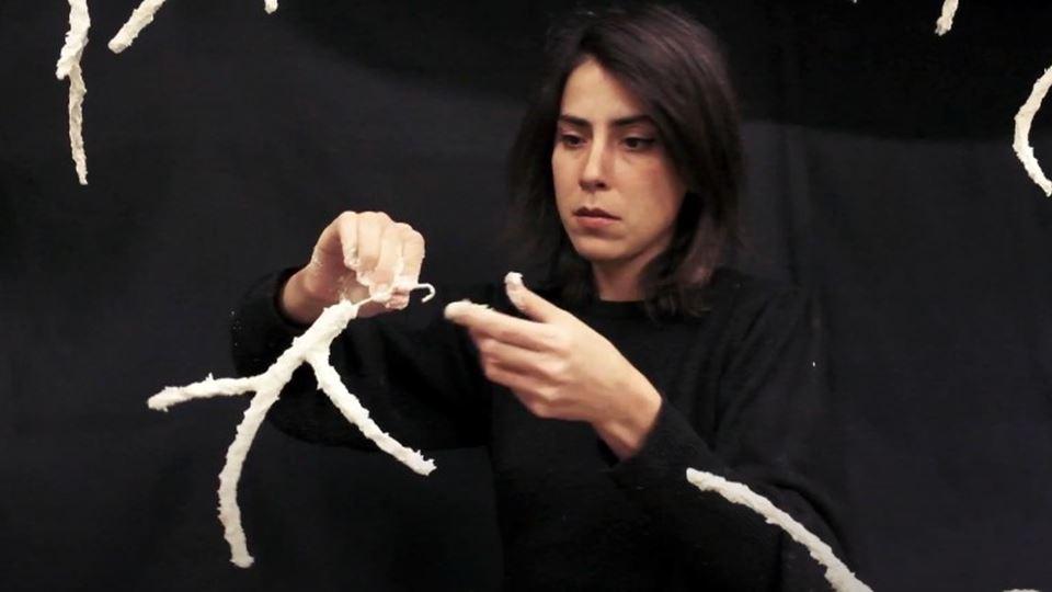 Artista portuguesa Cátia Estev...