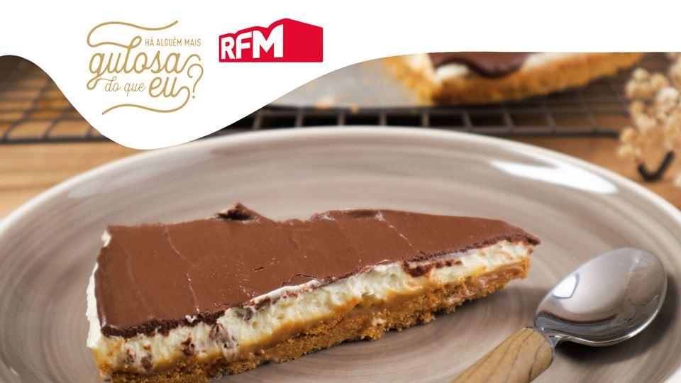 Cheesecake de Dois Chocolates ...