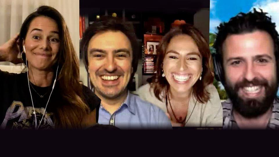 Cláudia Vieira em Live no WI-F...