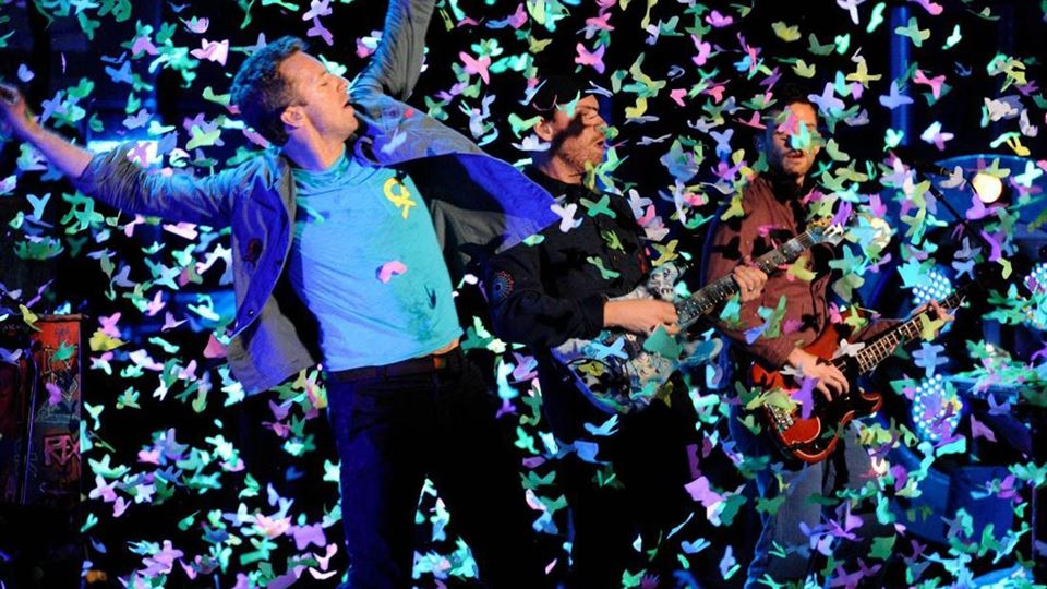 Coldplay vão ter a digressão m...