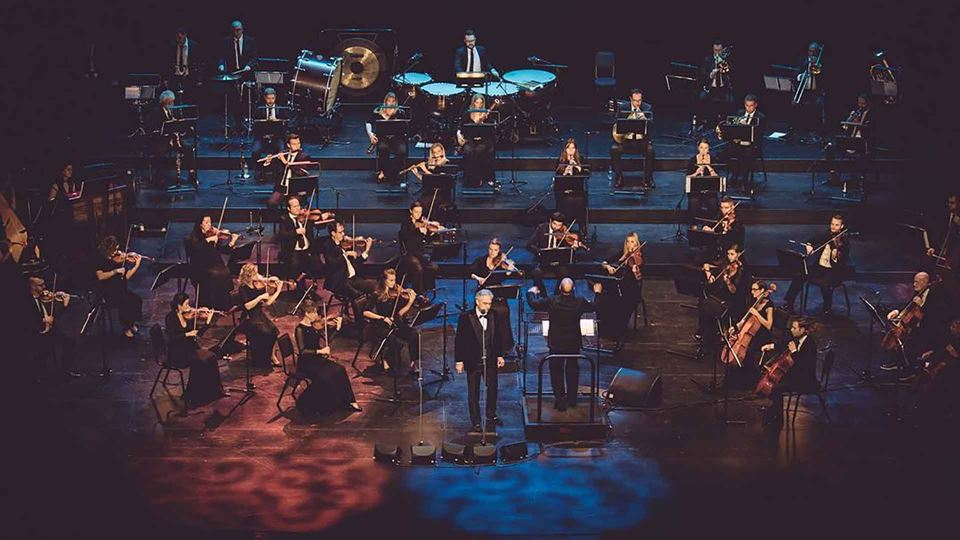 Concerto de Andrea Bocelli