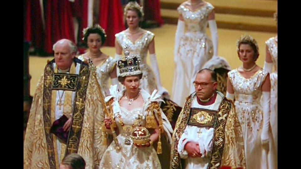 coroação rainha isabel ii