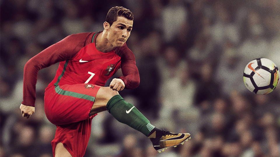 Forcado protege Cristiano Ronaldo