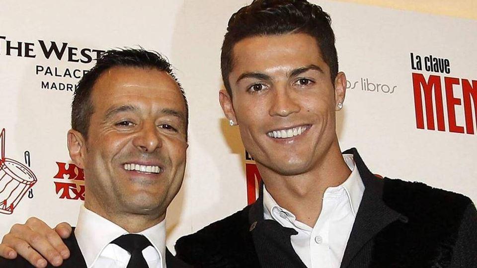 Cristiano Ronaldo e Jorge Mend...