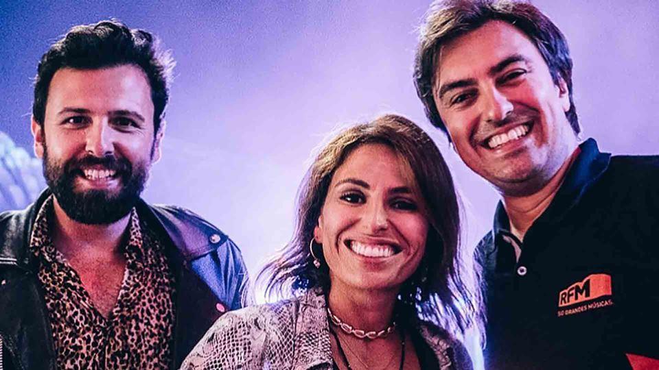 Daniel Fontoura com Rodrigo Gomes e Joana Cruz