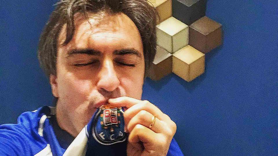 Daniel Fontoura e o seu Porto