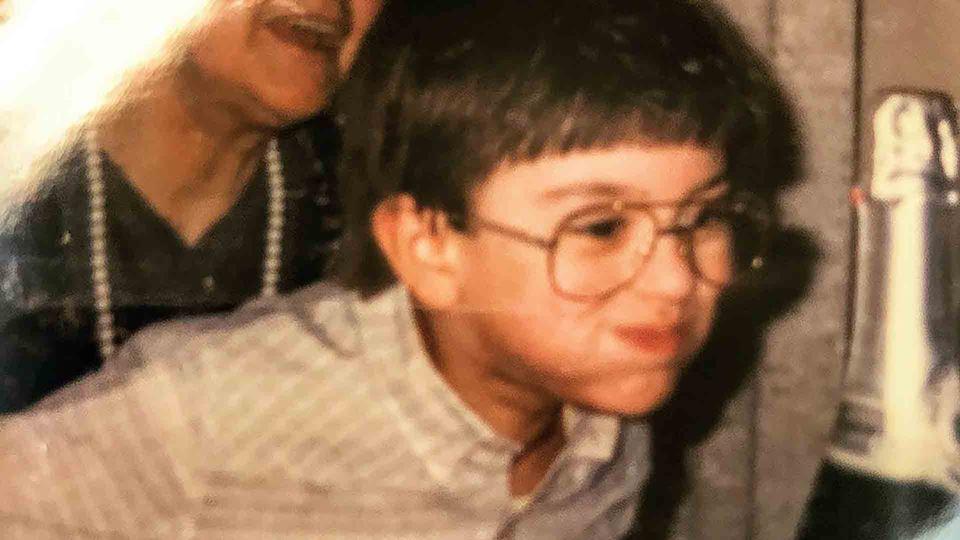 Daniel Fontoura em bebé