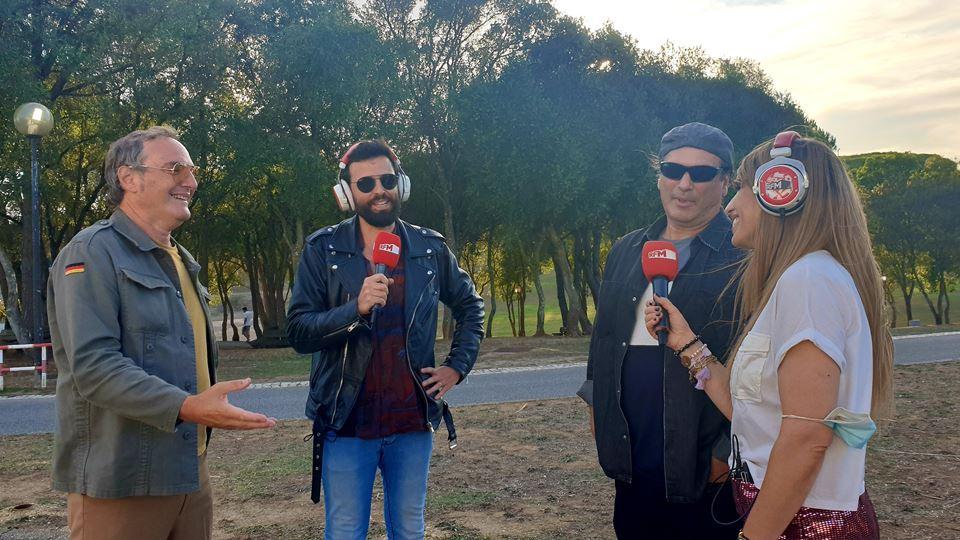 Delfins no Kick Off do Rock in Rio Lisboa 2022