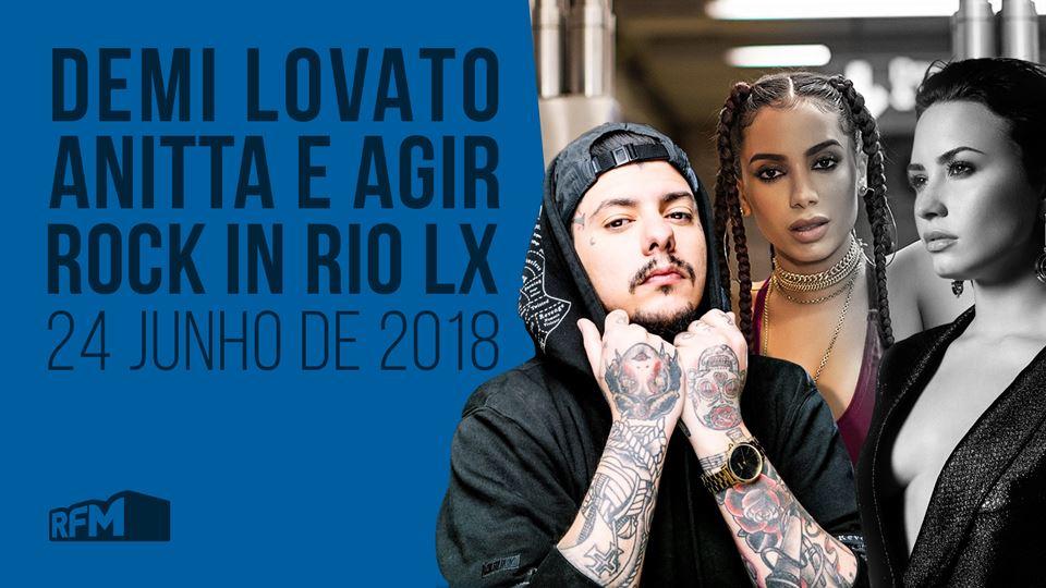 Demi Lovato, Anitta e Agir no ...