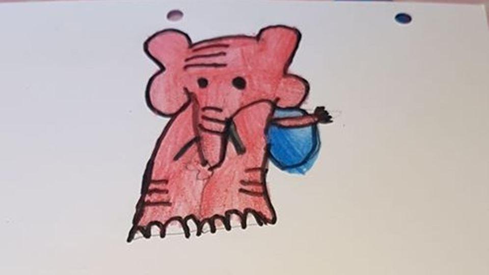 desenho elefante - margarida coelho