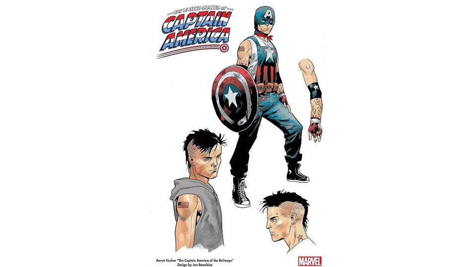 Desenhos do Capitão América