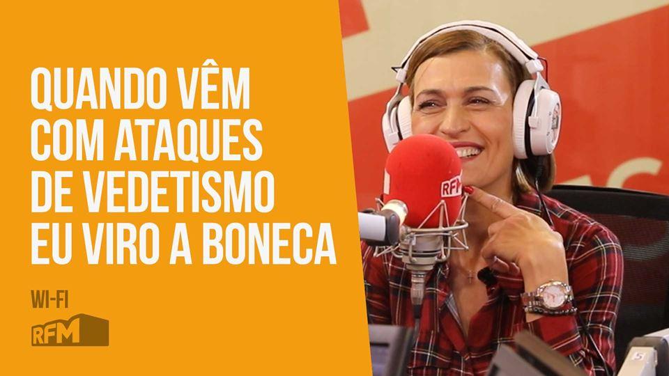 Fátima Lopes live no Wi-Fi da RFM