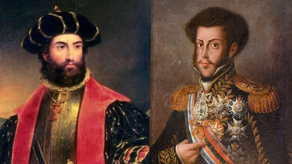 Qual foi o rei português que c...
