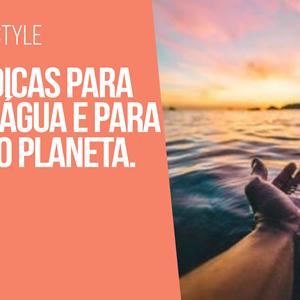 Ana Gomes Living: 5 dicas para poupar água