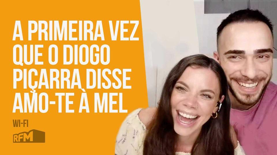 Diogo Piçarra e Mel Jordão liv...